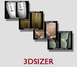 3DSIZER TRIDIMENSIONAL STEREO MEASUREMENT